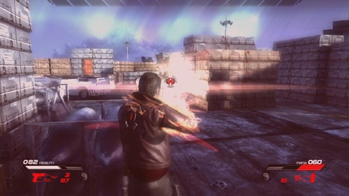 The game does have some nice visuals in terms of weapon effects and Infernal powers.