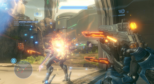 Halo 4 screenshot.