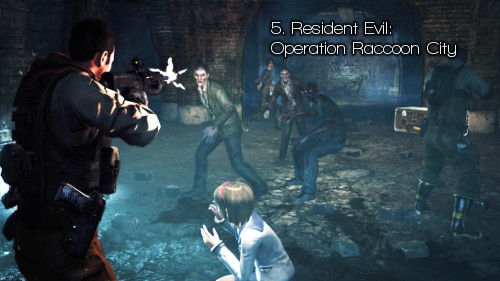 5. Resident Evil: Operation Raccoon City